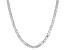 Sterling Silver Box Chain Necklace 24 inch