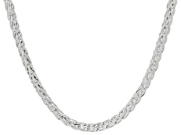 Picture of Sterling Silver Wheat Chain Necklace 20 Inches