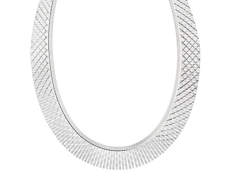 Sterling Silver Cleopatra 18 Inch Necklace