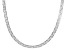 Sterling Silver 18 Inch Omega Greek Necklace