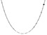 Sterling Silver 3.20MM Flat Rolo Link Necklace 24 Inches