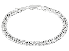 Sterling Silver 5.85MM Curb Bracelet