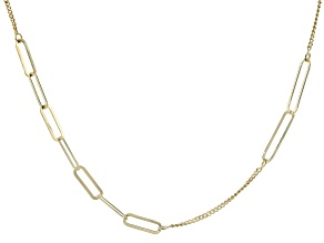 18K Yellow Gold Over Sterling Silver 4.50MM
