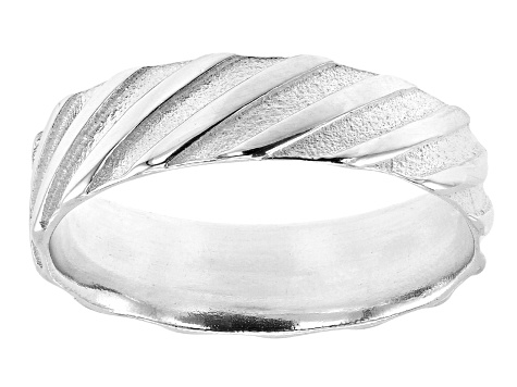 Sterling Silver Symmetric Braided Ring