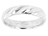 Sterling Silver Symmetric Design Band Ring