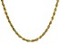 18K Yellow Gold Over Sterling Silver 2.82MM   Diamond Cut 8 Sides 18