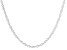 "Sterling Silver Torchon 18"" Necklace"