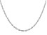 "Sterling Silver Torchon 24"" Necklace"