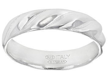Picture of Sterling Silver Twisted Band Ring