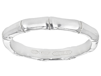 Picture of Sterling Silver Bamboo Band Ring