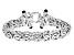 Sterling Silver Black Onyx Cabochon Accent 12MM Byzantine 8 Inch Bracelet