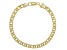 18K Yellow Gold Over Sterling Silver 5MM Twisted Curb Link Bracelet