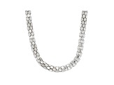 Sterling Silver 4.90MM Popcorn Chain 20 Inch Necklace