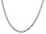 Sterling Silver Diamond-Cut 4.4MM Double Link Chain 18 Inch Necklace