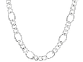 Sterling Silver 14MM Figaro Chain