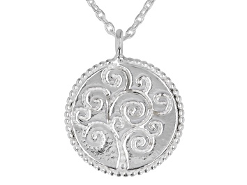 Picture of Sterling Silver Tree of Life Necklace