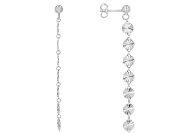 Picture of Sterling Silver Dangle Earrings