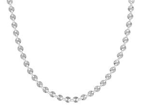 Sterling Silver 4.1MM Starburst Chain