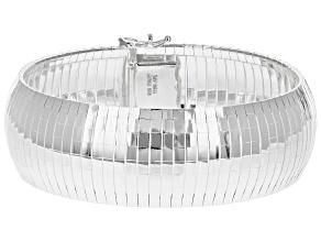 Sterling Silver Cubo Dome Bracelet