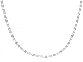 Sterling Silver 2.1mm Mirror 18 Inch Chain