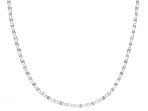 Sterling Silver 2.1MM Mirror 20 Inch Chain
