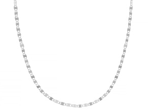 Sterling Silver 2.1MM Mirror 24 Inch Chain