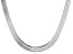 Sterling Silver Herringbone Link Necklace 20 inches