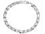 Sterling Silver Herringbone Link Bracelet 8 inch