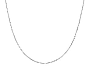 "Sterling Silver 16"" - 22"" Adjustable Box Chain"