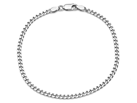 Sterling Silver Curb Chain Bracelet