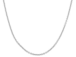 "Sterling Silver 16"" - 22"" Adjustable Cable Chain"