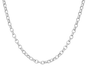 "Sterling Silver 16"" - 22"" Adjustable Rolo Chain"