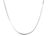 "Sterling Silver 18"" Thin Snake Chain Necklace"