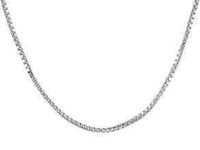 Sterling Silver Box Chain 18 inch