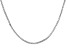Sterling Silver Box Chain 18 inch