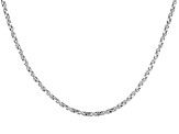 Sterling Silver Box Twisted Box Link Chain 24 inch