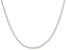Sterling Silver Twisted Diamond Cut Chain 24 inch
