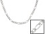 Sterling Silver Figaro Link Chain 18 inch