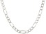 Sterling Silver Figaro Link Chain 24 inch
