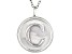 "Initial ""C"" Sterling Silver Pendant With 18 inch Chain"