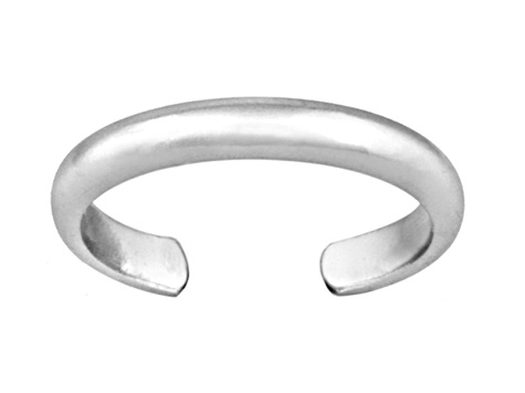 3mm Polished Sterling Silver Toe Ring
