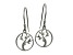 Tree Of Life Polished Sterling Silver Dangle Earrings