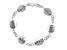 Inscripted inspirational Sterling Silver 7 inch Bracelet