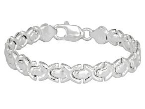 X-Link Sterling Silver 7 inch Bracelet