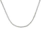 Sterling Silver Popcorn Link Chain Necklace 20 inch 2mm