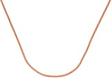 18k Rose Gold Over Sterling Silver Popcorn Link Chain Necklace 20 inch