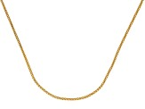 18k Yellow Gold Over Sterling Silver Popcorn Link Chain Necklace 20 inch
