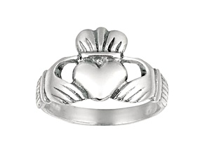Sterling Silver Cladaugh Ring