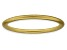 14k Yellow Gold Over Sterling Silver Satin Finished Band Ring