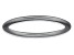Rhodium Over Sterling Silver Satin Finished Band Ring